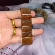 紅銅鈦手排 約26MM 鈦晶手排 老料