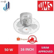 ₪UMS  Auto Fan 16 Inch Ceiling 360 Degree UAF-16 Ceilling fan Kipas Siling