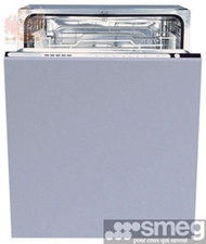 【鵝媽媽】豪山牌代理☆義大利原裝進口-SMEG-ST66T☆☆全崁入式洗碗機☆送安裝☆