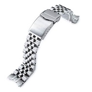 MiLTAT 20mm Watch Band for Seiko Alpinist SARB017 SBDC091 SBDC089, Angus-J Screw-Link 並行輸入品