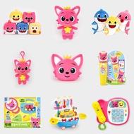 Pinkfong 碰碰狐 Baby Shark 鯊魚寶寶家族 發聲絨毛娃娃系列 韓國原裝玩具 會唱歌安撫毛絨玩偶玩具禮物