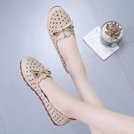 รองเท้าคัชชูพื้นนิ่ม pudding พร้อมส่งจากกทม รองเท้าคัชชูหนังนิ่ม