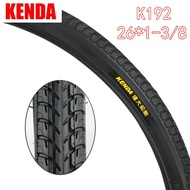 Bicycle Accessories KENDA tire K192 bicycle station wagon tire 26*1-3/8 In Stock