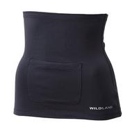 Wildland 荒野 中性 遠紅外線保暖肚圍 遠紅外線保暖/貼身曲線/束腹肚圍0A12031-54黑色