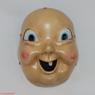 娛樂忌日快樂面具樹脂cos祭日 死亡循環loop萬圣節恐怖裝扮 吃雞道具