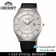 Orient FGW03007W Man Classic Quartz Sapphire Crystal Leather Strap Watch GW03001B