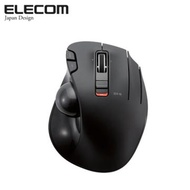 ELECOM 無線拇指軌跡球滑鼠-黑