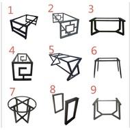 《鐵木居》時尚桌腳 黑鐵桌腳 桌板腳架 客制化訂製