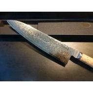 粉末鋼SG-2 ~雙人牌雅MIYABI 5000MCD 9.5吋主廚刀~Birchwood