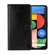 【IN7】瘋馬紋 Google Pixel 4a 5G 6.2吋 錢包式 磁扣側掀PU皮套 手機皮套保護殼(吊飾孔 插卡皮套)