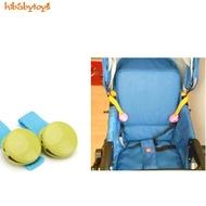 寶寶 推車夾 嬰兒防踢被 多功能 多用途 兒童玩具帶 綁帶夾子 【H家賣場】