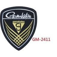 ★狐丸釣具★GAMAKATSU GM-2411 盾牌貼紙