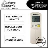 [Singapore Warranty] Daikin Aircon Remote Control Daikin Remote BRC4C153 BRC4C151