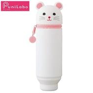 【LIHIT LAB】A-7712-15  伸縮筆筒-可愛鼠(小)