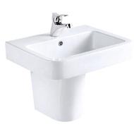【馬桶先生】 國寶衛浴 E&T 面盆/短柱 L-2186/F-2005
