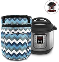 """Helpful Household""""Instant Pot"""" Carrying Case - for 6 Quart Instapot - Travel Tote Bag - Storage Cover Carrier - Insta Pot and Pressure Cooker Accessories - Instant-Pot Accessory 6 qt"""