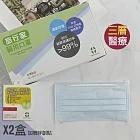 旅行家 醫用口罩50入/盒X2入-成人藍色/贈水凝絆創貼 醫療口罩 台灣製 雙鋼印 三層熔噴