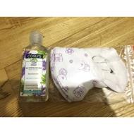 Coslys 乾洗手+bnn兒童立體口罩