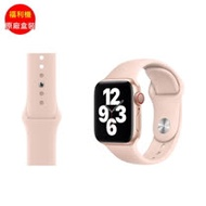 福利品_APPLE Watch 40mm 沙粉運動錶帶(3D990FE/A)_九成新