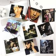 ℯ⚘Jay Chou Classic Album Cover adhesive paper Jay Jay Chou retro nostalgic laptop phone ipad decoration sticker