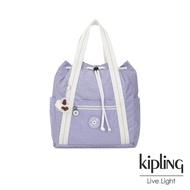 Kipling 法式丁香紫兩用側背後背包-小-ART BACKPACK S