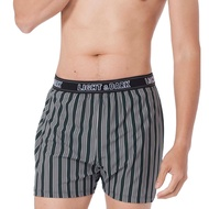 LIGHT&DARK 百和白竹炭平口褲(4件組)