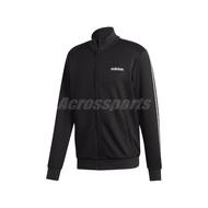 adidas 外套 C90 Track Top Jacket 黑 白 男款 立領外套 運動休閒 【ACS】 EJ9671