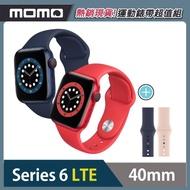 運動錶帶超值組★【Apple 蘋果】Apple Watch Series6 40公釐 LTE版 鋁金屬錶殼搭配運動錶帶(S6 LTE40)