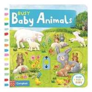 make us grow,! Busy Baby Animals (Busy Books) -- Board book