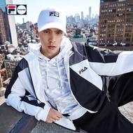 FILA斐樂 外套男生飛行外套棒球領夾克防風外套 薄外套 機車外套 型男短款外套 個性百搭 潮牌外套