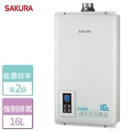 【SAKURA 櫻花】智能恆溫熱水器 16L(DH-1670A)