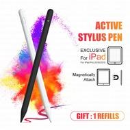 Chigoo 12th Gen ปากกาสไตลัส Stylus Pen ปากกาทัชสกรีน ปากกาเขียนหน้าจอ ปากกาโทรศัพท์ 1 หัวใน 1 ด้าม ปากกาสไตลัส ปากกาไอแพด รุ่น Apple Pencil stylus ipad gen7,gen8 2019 apple pencil2 10.2 9.7 2018 Air 3 Pro Air 4 11 2020 12.9 (ส่งจากไทยทุกวัน)
