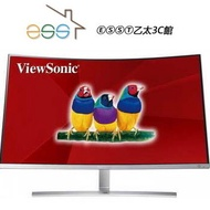 ⒺⓈⓈⓉ乙太3C館-(聊聊價$8590)ViewSonic 32吋VX3216-SCMH曲面螢幕⌛請先詢問