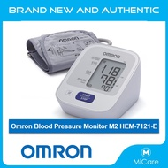 [Free Same Day Delivery] Omron Blood Pressure Monitor M2 HEM-7121-E