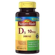 特價 現貨 Nature Made 100顆 萊萃美 D3 400iu 錠劑 維他命D 非活性