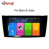 Wanqi Android 10 RDSรถนำทางAndroidสำหรับBenz E-Class W211(2002-2008) CLS W219(2004-2009) G-Class W463(2001-2008) NO DVD