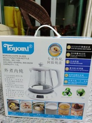 Toyomi Glass Multi Function Kettle