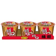 阿Q桶麵 紅椒牛肉風味桶(101gx3入)