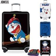 Johnn อุปกรณ์ป้องกันกระเป๋า 18-20-22-24-26-28-30-32 ยืดหยุ่นผ้าคลุมกระเป๋าเดินทางกระเป๋าลากถุงครอบกันฝุ่น [คลังสินค้าพร้อม-คุณภาพสูง]