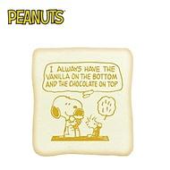 甜筒款【日本正版】史努比 吐司造型 捏捏樂 軟軟 Squishy Snoopy PEANUTS - 629364