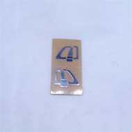 Mirrored Car Door Handle Sticker for TAMIYA 1/14 SCANIA 620 470 RC Tractor Truck