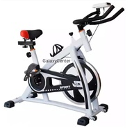 PRO Bike Fitness Indoor Exercise Cycling Red Bike Exercise Bicycle Bike Trainer Spin Bike White