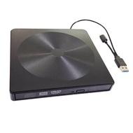 Amagogo ภายนอกประเภท C DVD CD ไดรฟ์ออปติคัลเครื่องเล่นสำหรับแล็ปท็อป PC สีดำ