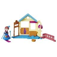 冰雪奇緣女孩玩具模型玩偶兒童玩具生日禮物 可拆卸配件 迷你人物迷你場景組安娜公主E0234
