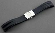 來來鐘錶~22mm雙股一次料矽膠錶帶替代原廠同規格部品citizen,seiko,oris, casio