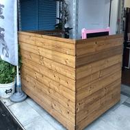 二手  木製飲料攤車