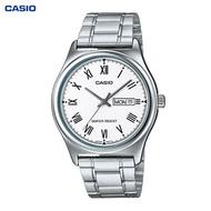 CASIO STANDARD นาฬิกาผู้ชาย สายสแตนเลส รุ่น MTP-V006D-7B