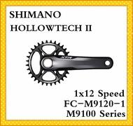 【SHIMANO】XTR M9100 Series FC-M9120-1 Crankset HOLLOWTECH II MTB Crankset 168 mm Q-Factor 1x12-speed