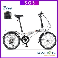 🔥In Stock🔥 Dahon Folding Bicycle 20 Inch Ultra Light Variable Speed Adult Student Men's And Women's Bike Hat060