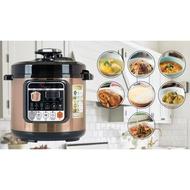 La Gourmet® Electric Pressure Cooker 6L